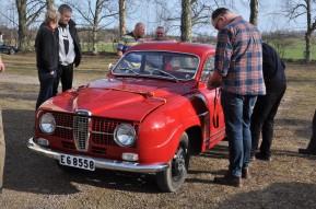Dag Petterssons gamla rallybil.
